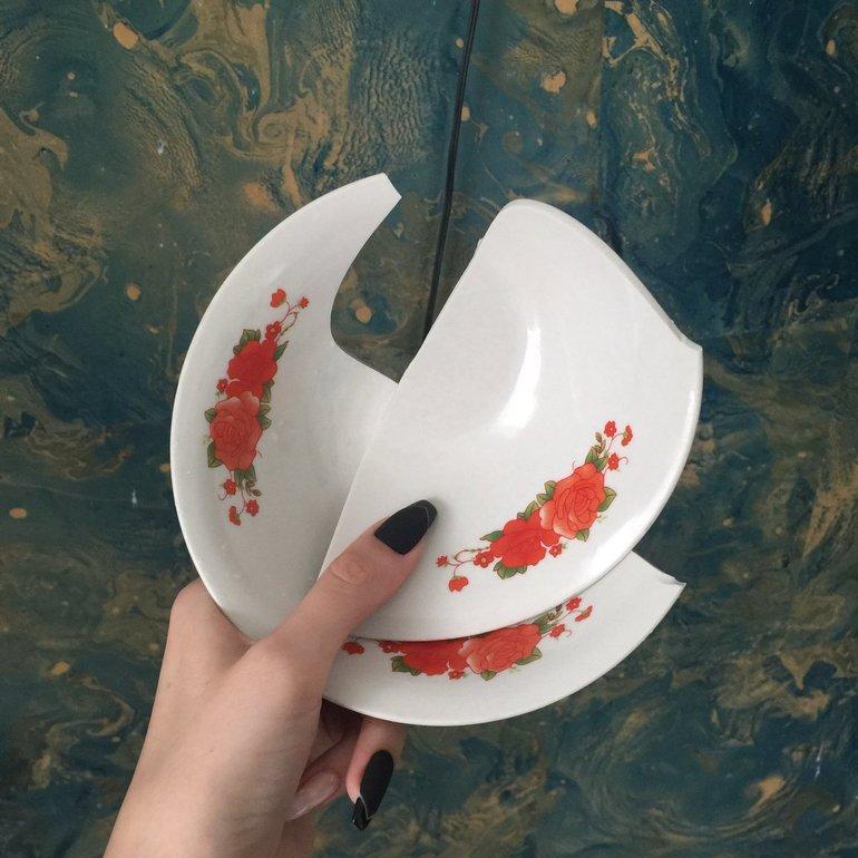 К чему разбить тарелку