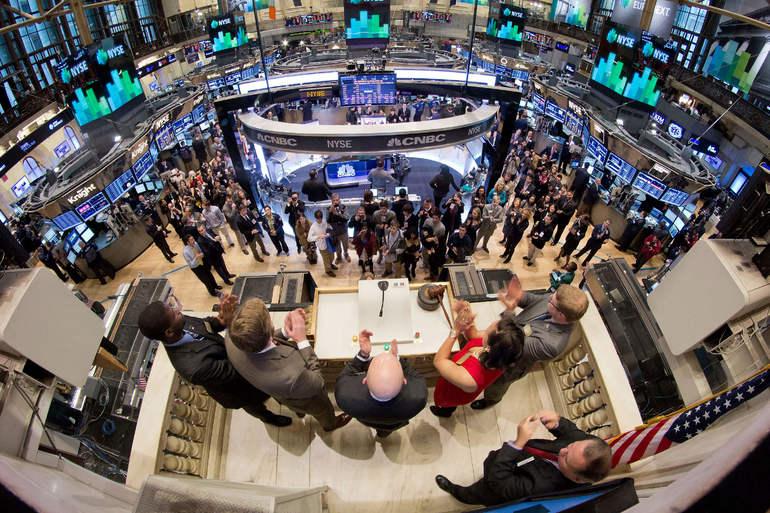 Биржа ценных бумаг на фондовой бирже