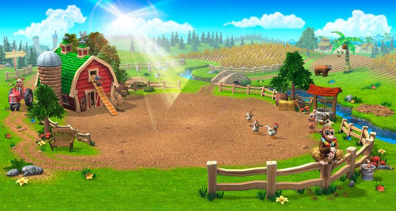 Как покупать фабрики в игре Ферма соседи