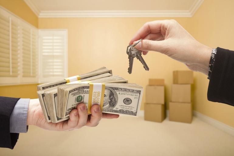 Деньги за аренду недвижимости