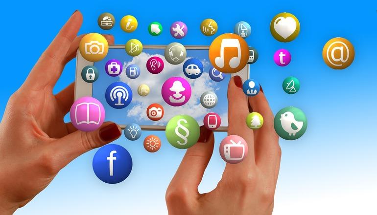 Действие в социальных сетях
