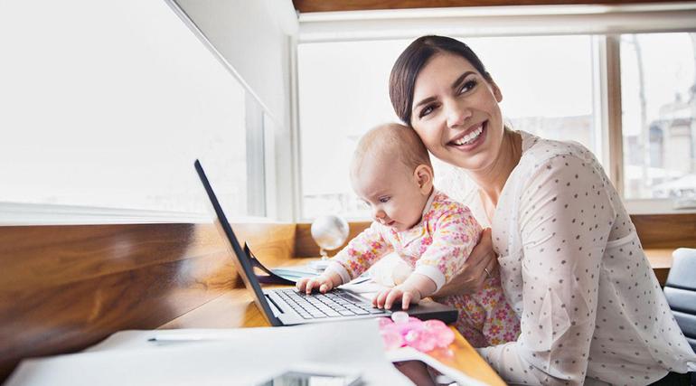 Как зарабатывать в интернете мамам в декрете
