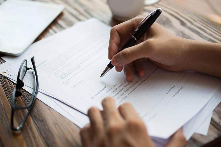 Правила составления документа
